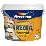Vivechrom Ακρυλικό Vivecryl Eco Λευκό 750ml